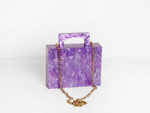Alexa Bag in Purple