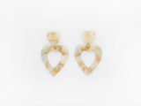 Georgette Earrings Natural