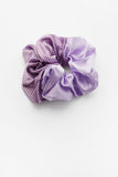 Cindy Semi Dot Scrunchie Purple
