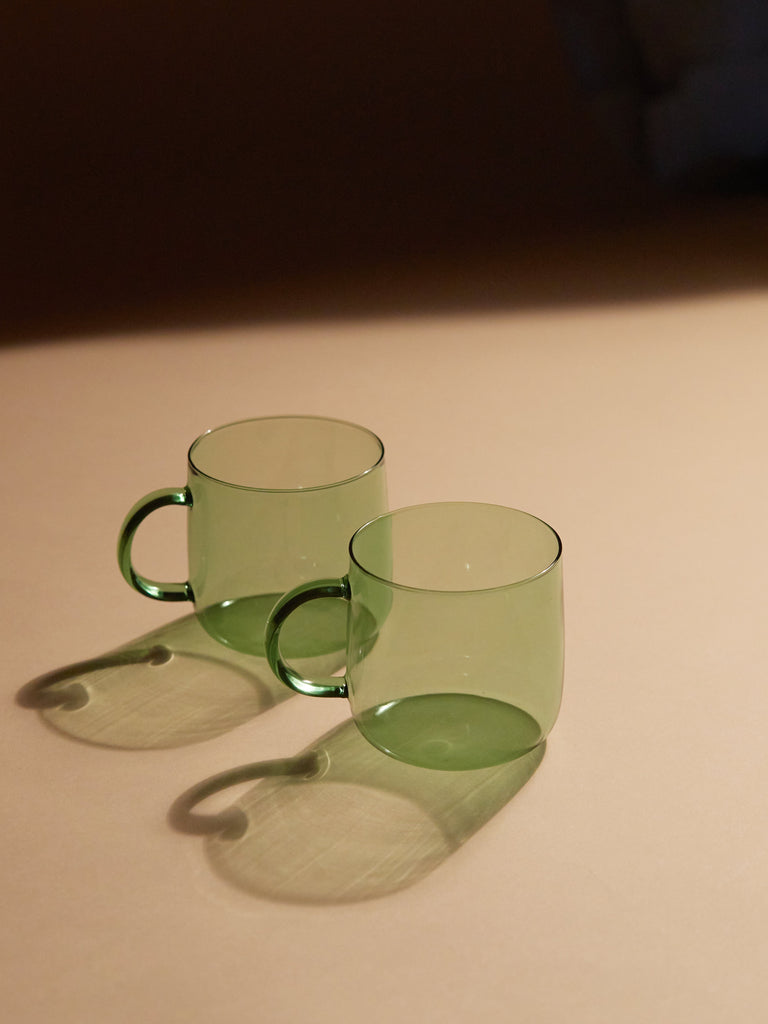 CORO CUP SET IN GREEN