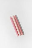 Taper Candle Set Pink
