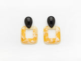 Abbey Earrings Yellow