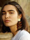 Clemence Earrings Tortoise