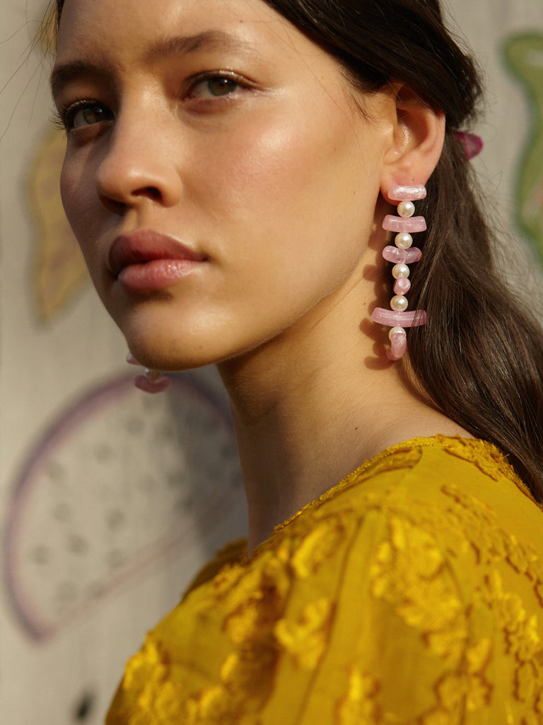Clotilde Earrings Tortoise