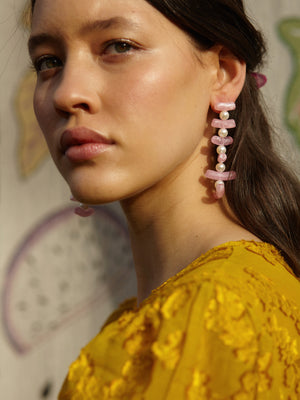 Clotilde Earrings Mint