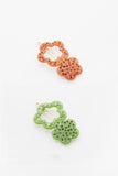 Dolly Clips in Orange and Green