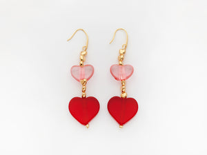 Emma Earrings Red