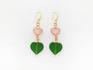 Emma Earrings Green