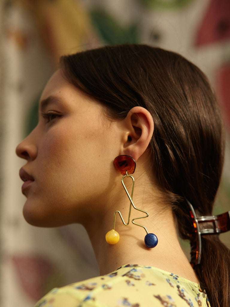 Freja Earrings Natural