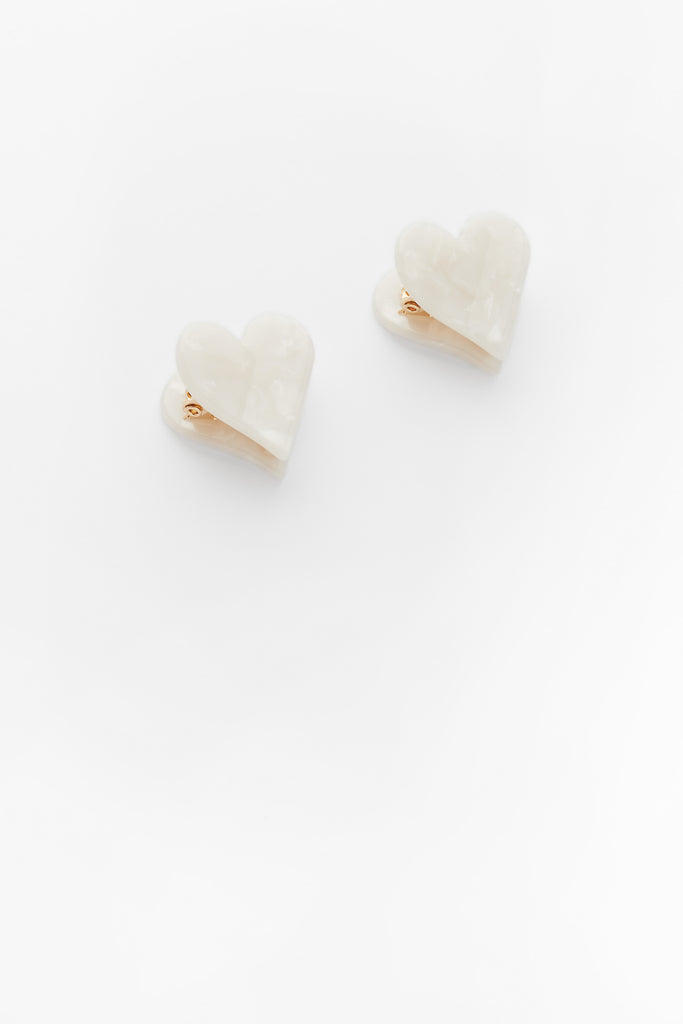 Mini Heart Clips