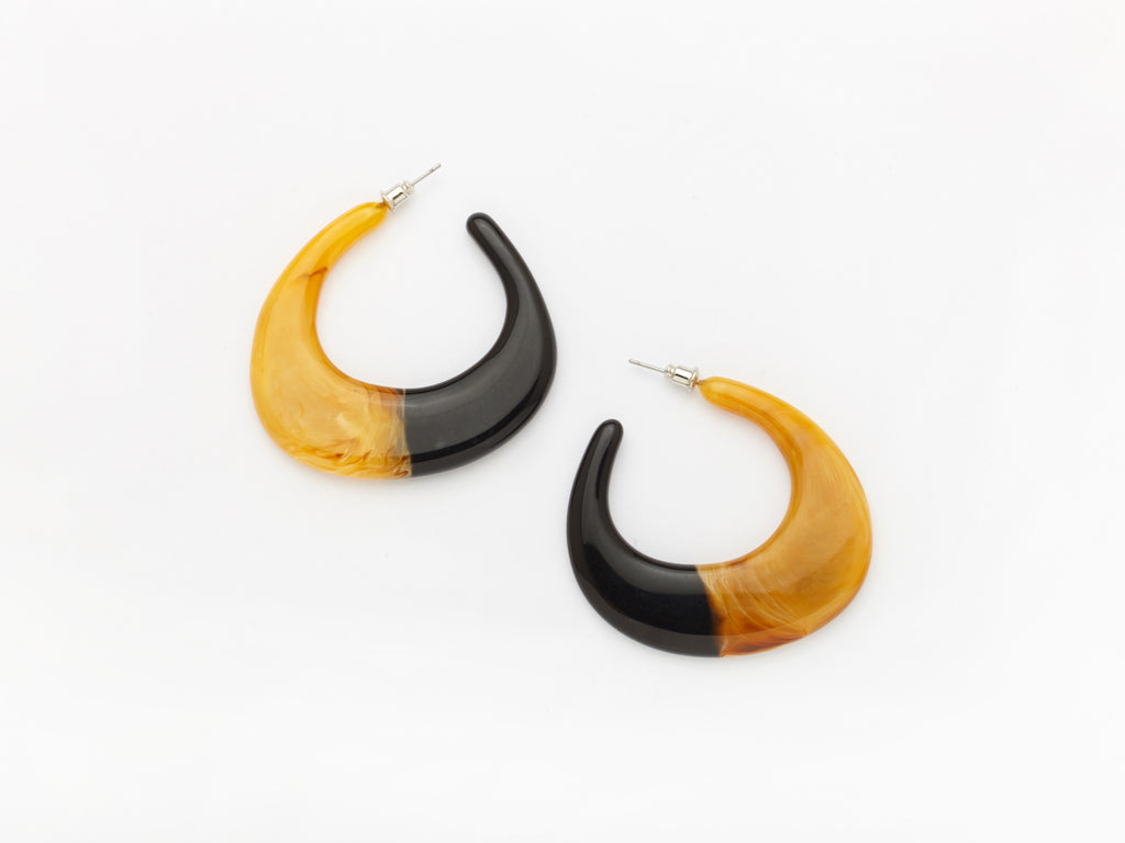 Paige Earrings Yellow