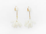 Rita Earrings White