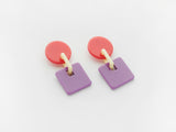 Savannah Earrings Pink