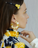 Maritza Earrings in Yellow