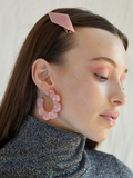 Maritza Earrings in Pink