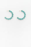 Verity Hoops in Baby Blue