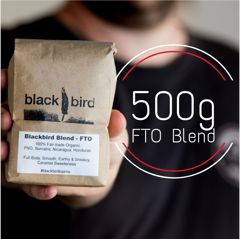 Blackbird Fairtrade Organic House Blend - 500g