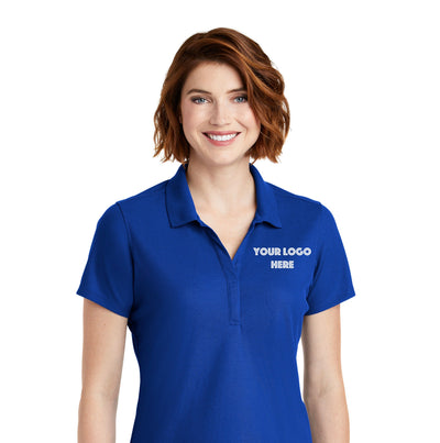 Custom Embroidered Ladies Polo - Great Quality -