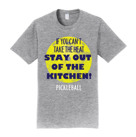 Pickleball Shirt - Unisex - Stay out of the Kitchen - Great Gift Idea for all Ocassions