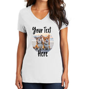 CUSTOM PHOTO Pet Shirt - Custom photo and text of your pet!  Great for gifts!