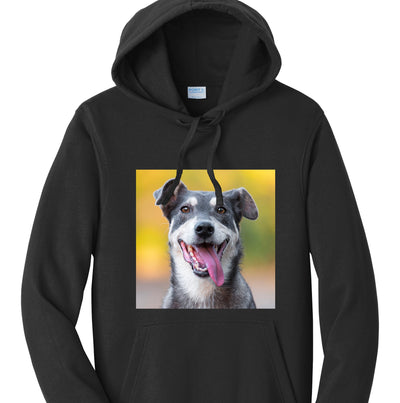 Custom Dog Lover Hoodie with your pet photo!