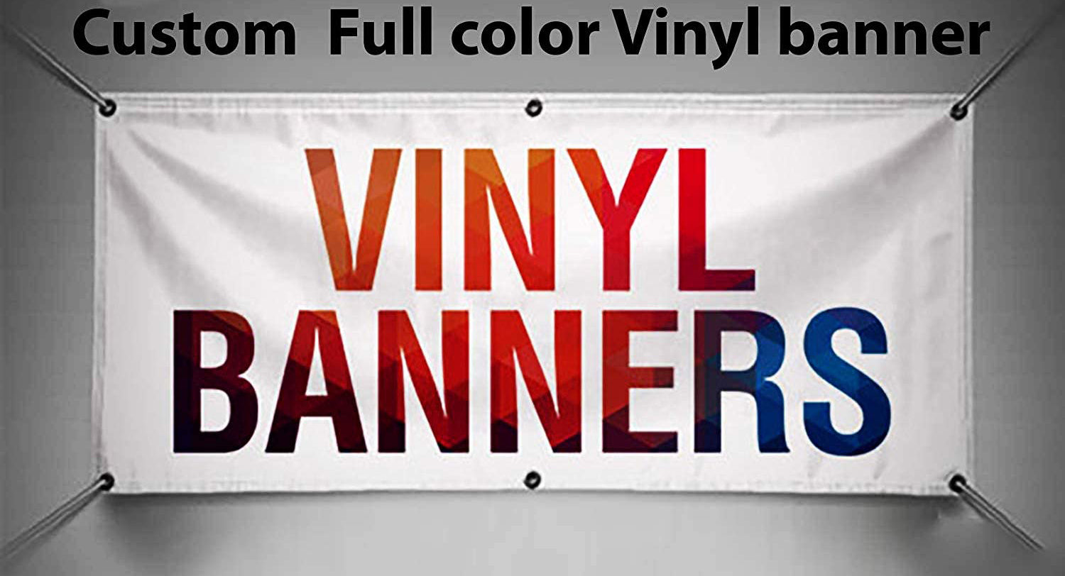 Vinyl Banner Custom Any Size