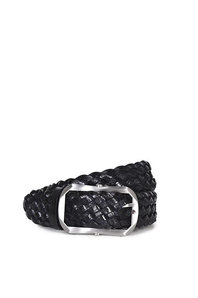 Husk Narrow Braided - Black