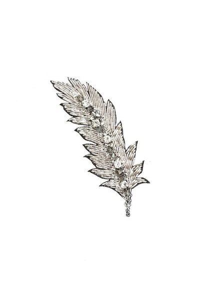 Madiso Feather Brooch