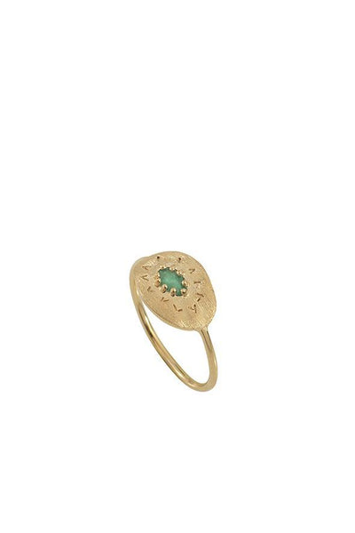 Louise Hendricks Felix Ring - Emerald