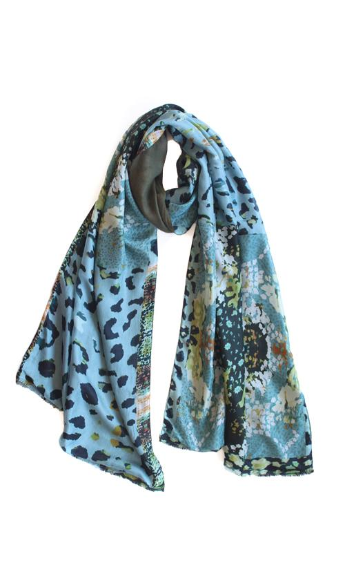 Kate Sellars Jones Scarf Folk