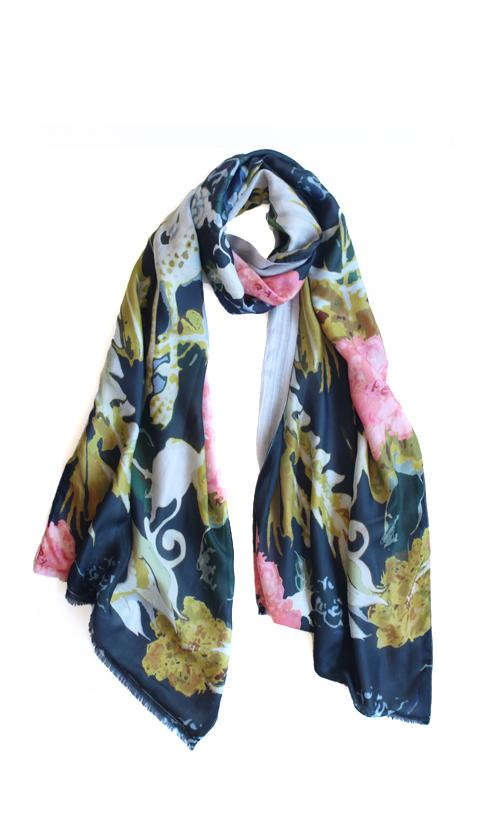 Kate Sellars Jones Scarf Pheonix