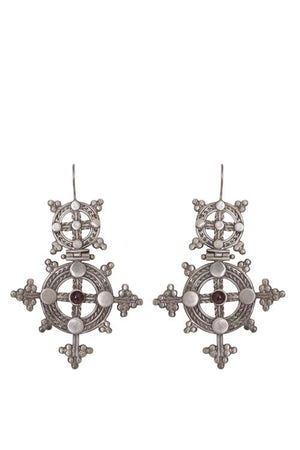 Husk Jewellery Large-Cross ER