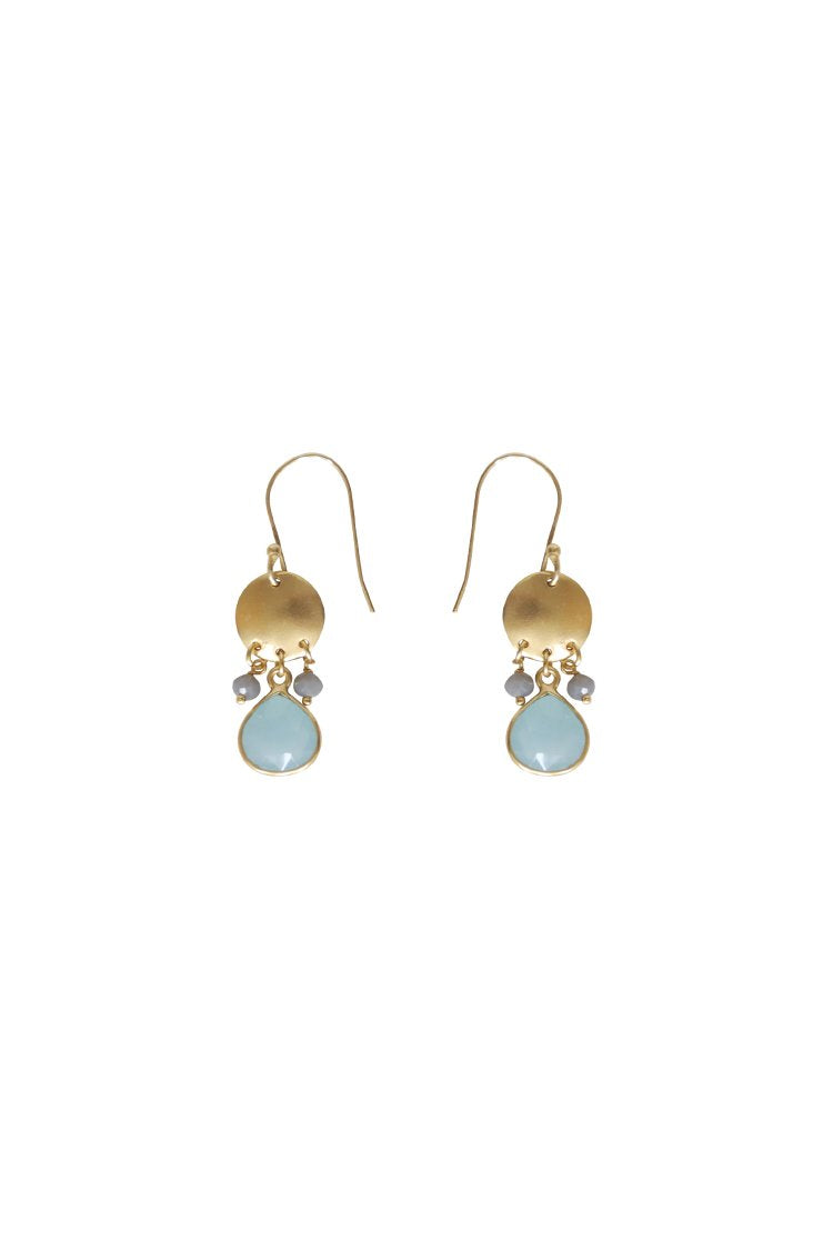 Husk Jewellery Aqua&Gry Chal