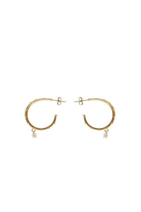Husk Jewellery Gold Hoop