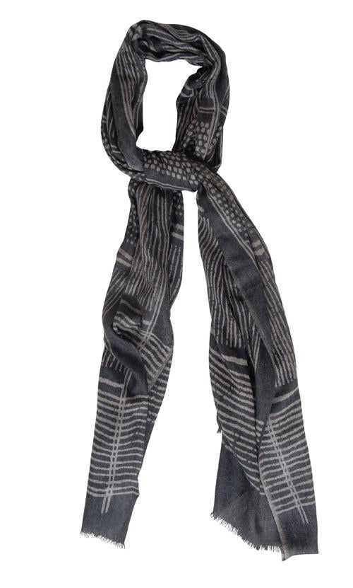Husk Accessories Striped Scarf