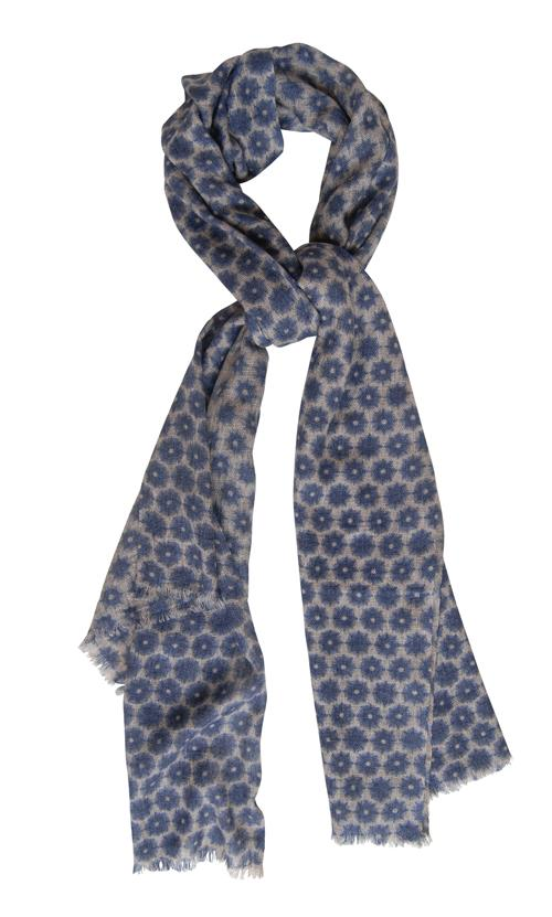 Husk Accessories Flower/Print Scarf