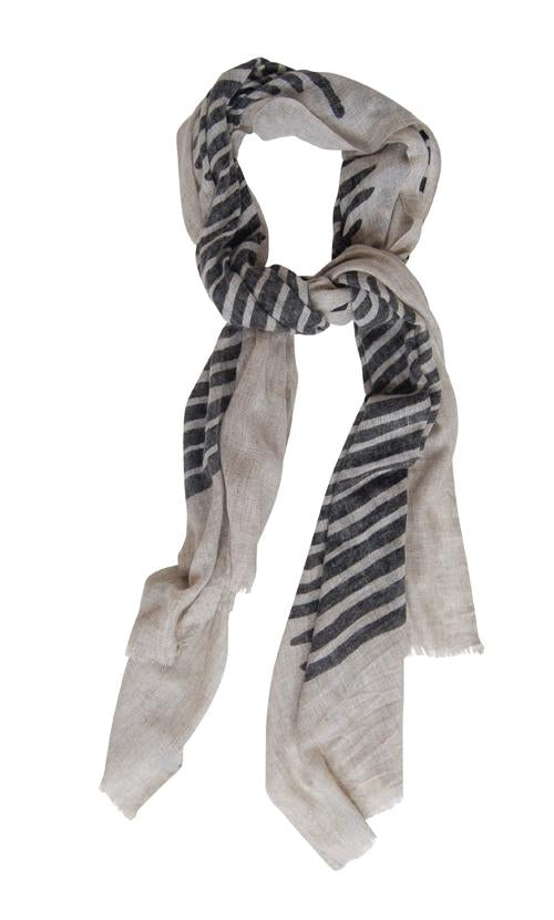Husk Accessories Black&Grey Scarf