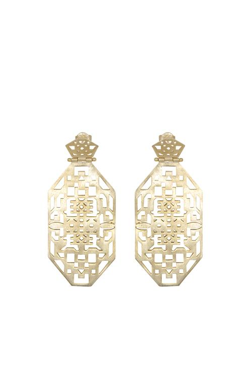 Husk Jewellery Geo Earrings