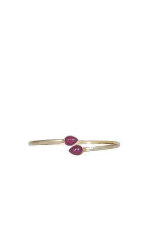 Husk Jewellery Ruby Bangle