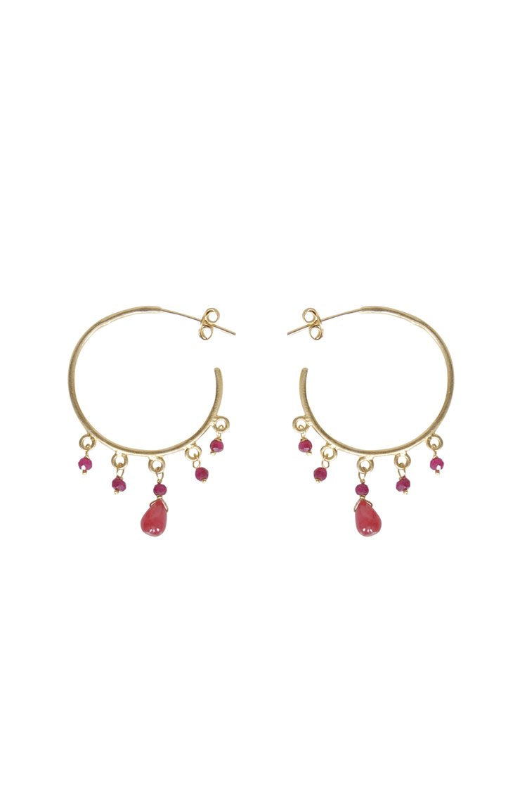 Husk Jewellery Ruby/Bead ER