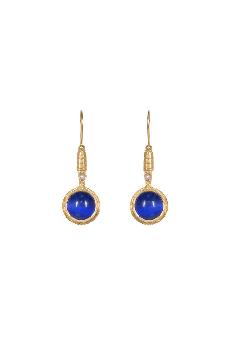 Husk Jewellery Drop Blue