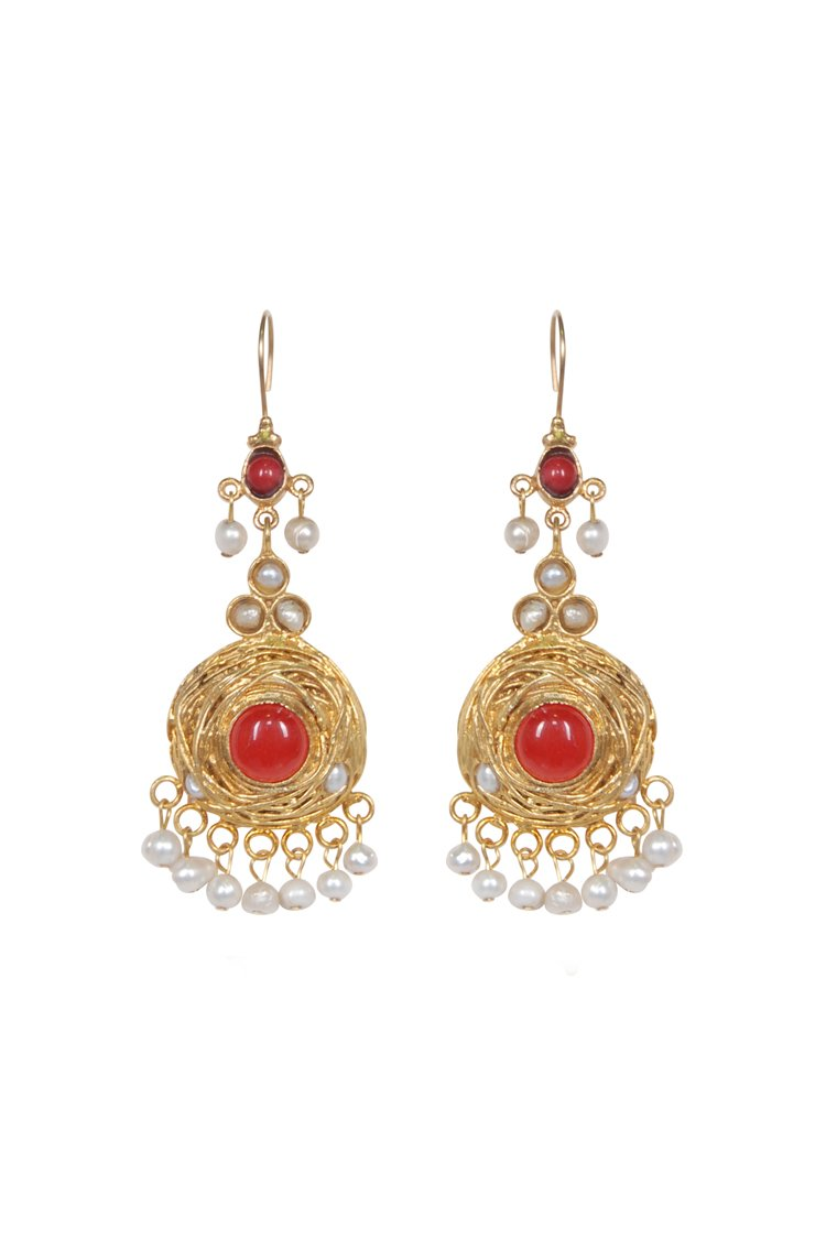 Husk Jewellery Nest Red