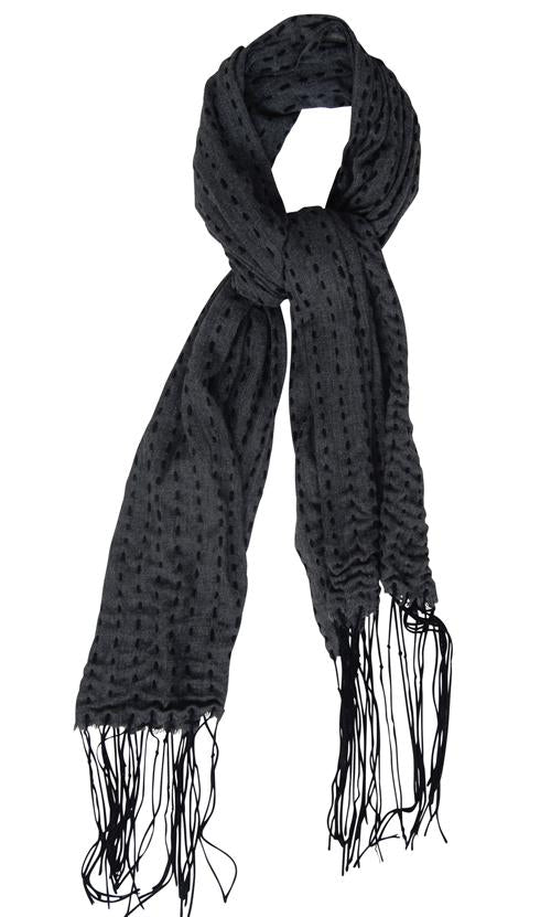 Husk Accessories Textured Scarf