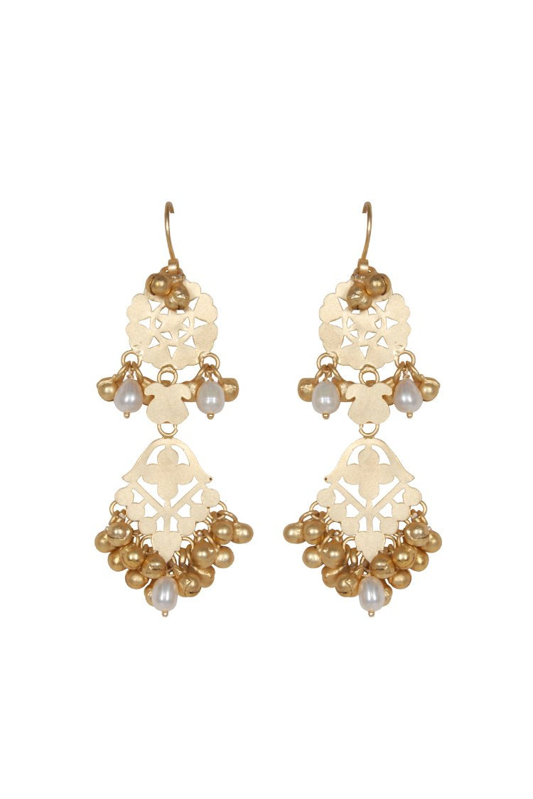 Husk Jewellery Pearl-Accent Earrings