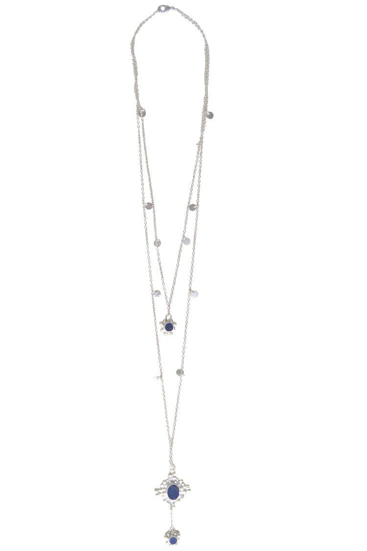 Husk Jewellery Long/Silver Necklace