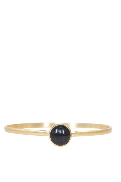 Elle Gemz Black-Drop Bracelet