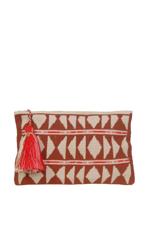 Guanabana Diamond Clutch