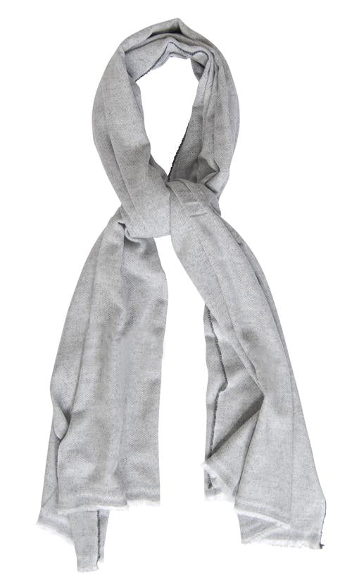 Husk Accessories Grey-Wool Scarf