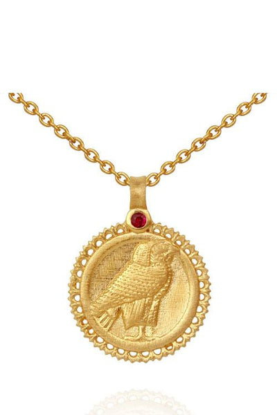 Temple Of The Sun Horus Necklace