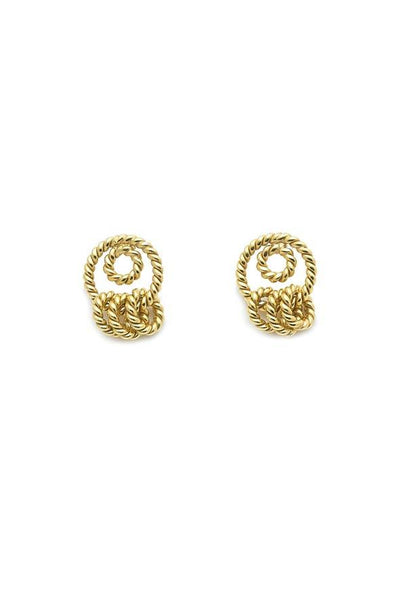 Christine Bekaert Dangle Earrings